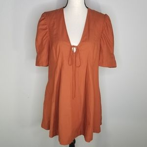 Free People Anthro Adele tunic top